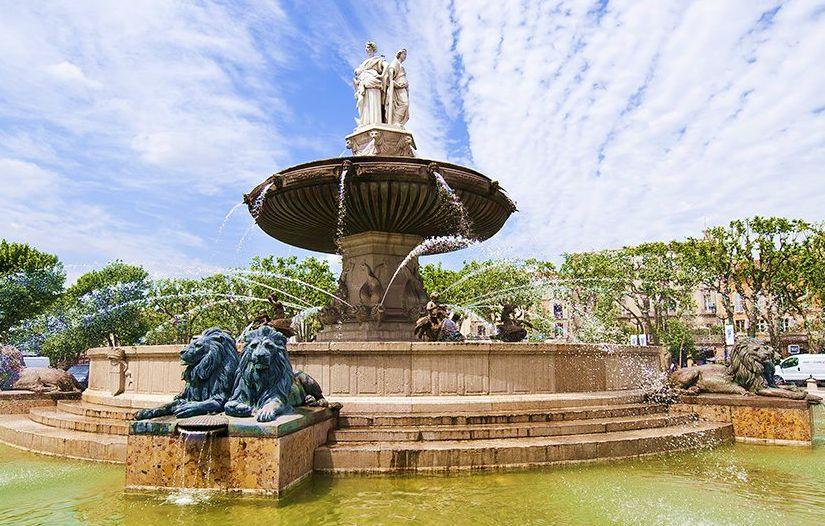 la rotonde d'Aix-en-Provence